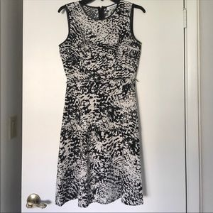 Calvin Klein Dresses - Calvin Klein Abstract Animal Print Flare Dress 2